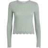 Frame Scalloped Cashmere Sweater - Puloveri -