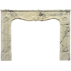 French Louis XV fireplace mantel - Namještaj -