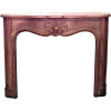 French Provincial Style Oak fire mantel - Mobília -