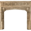 French gothic fireplace mantel - Namještaj -