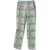 French material Houndstooth jacquard pan - Capri & Cropped -