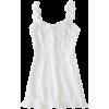 Frill Rose Ribbon Dress - Haljine - $28.99  ~ 184,16kn