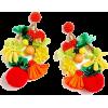 Fruit bowl earrrings - イヤリング -