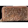 Frye Deborah Glazed Vintage DB970 Wallet Whiskey - Brieftaschen - $198.00  ~ 170.06€