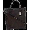 Frye James Veg Cut Leather DB436 Tote Dark Brown - Borse - $598.00  ~ 513.61€