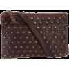Frye Vintage Stud Shoulder Bag Cognac - Bag - $278.00