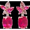 Fuchsia Earrings - Earrings -
