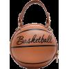 Funny Small Round Women's New Messenger Pink Chain Basketball Bag Nhjz242749 - Hand bag -