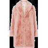 Fuzzy Coat Pink - Jacket - coats -