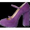 G.V.G.V. platform purple suede mary jane - Classic shoes & Pumps -