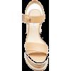 GABRIELA HEARST cork leather platform - Platforms -