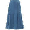 GABRIELA HEARST  denim midi skirt - Suknje -
