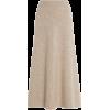 GABRIELA HEARST neutral wool skirt - Gonne -