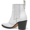GANNI Callie leather ankle boots - Stiefel -