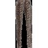 GANNI Split-hem leopard-print skinny jea - Leggins -