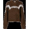 GANNI beaded fringe detail sweater - Tunic -