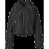 GANNI black puffer coat - Jakne i kaputi -