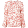 GANNI floral print blouse - Long sleeves shirts -