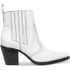 GANNI  leather ankle boots  - Stiefel -