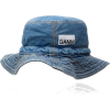 GANNI washed denim hat - Šeširi -