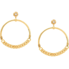 GAS BIJOUX Sorane hoop earrings - Uhani -