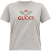 GG logo-embroidered cotton T-shirt - Shirts - kurz -