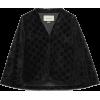 GG velvet cape - Jacket - coats - $2,300.00