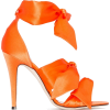 GIA COUTURE Katia 120mm bow sandals - Sandale - $424.00  ~ 364.17€