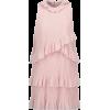 GIAMBA Blush Tiered Mini Dress - Dresses - $55.00