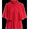 GIAMBATTISTA VALLI  Ruffled and smocked - Long sleeves shirts -