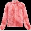 GIAMBATTISTA VALLI Square-print silk-geo - Hemden - lang - £666.00  ~ 752.64€