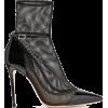 GIANVITO ROSSI  100 mesh and patent-leat - Klasične cipele -