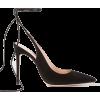 GIANVITO ROSSI 105 suede pumps - Klasične cipele -