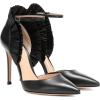 GIANVITO ROSSI Annabelle leather pumps - Классическая обувь -