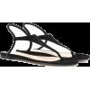 GIANVITO ROSSI Anya suede sandals - Sandálias -