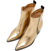 GIANVITO ROSSI Berkley Zipper Metallic L - Boots -