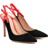 GIANVITO ROSSI Caterina 105 suede slingb - Classic shoes & Pumps -