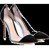 GIANVITO ROSSI Escarpins en daim et plex - Classic shoes & Pumps -