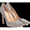 GIANVITO ROSSI Gianvito 105 suede pumps - Klasične cipele -