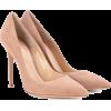 GIANVITO ROSSI Gianvito 105 suede pumps - Classic shoes & Pumps -