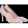 GIANVITO ROSSI Gianvito 85 suede pumps - Classic shoes & Pumps -