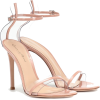 GIANVITO ROSSI G-string leather sandals - Sandals - 650.00€  ~ $756.80