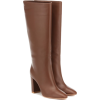 GIANVITO ROSSI Leather knee-high boots - Boots -