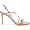 GIANVITO ROSSI Manhattan 105mm sandals - Sandały -