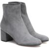 GIANVITO ROSSI Margaux Mid suede ankle b - Boots -