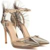 GIANVITO ROSSI PVC and metallic leather - Klasične cipele -