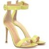 GIANVITO ROSSI Portofino 105 leather san - Sandals -