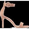GIANVITO ROSSI Portofino 85 suede sandal - Sandale -
