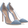 GIANVITO ROSSI Pumps Calfskin Denim Pvc - Classic shoes & Pumps -