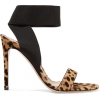 GIANVITO ROSSI leopard-print sandals - Sandals -